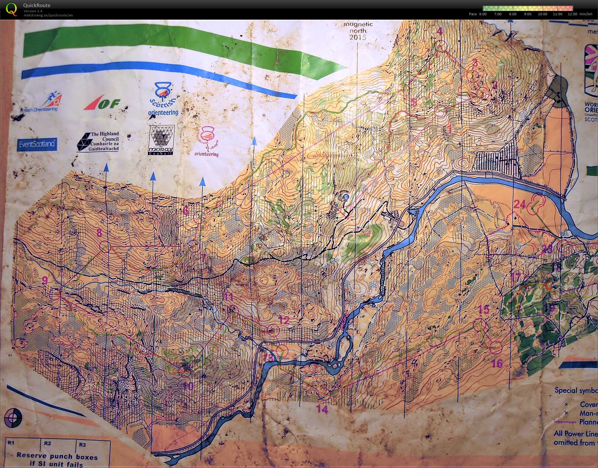 Scottish 6 Days - Day 2 (03/08/2015)